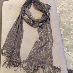 Zara shiny scarf